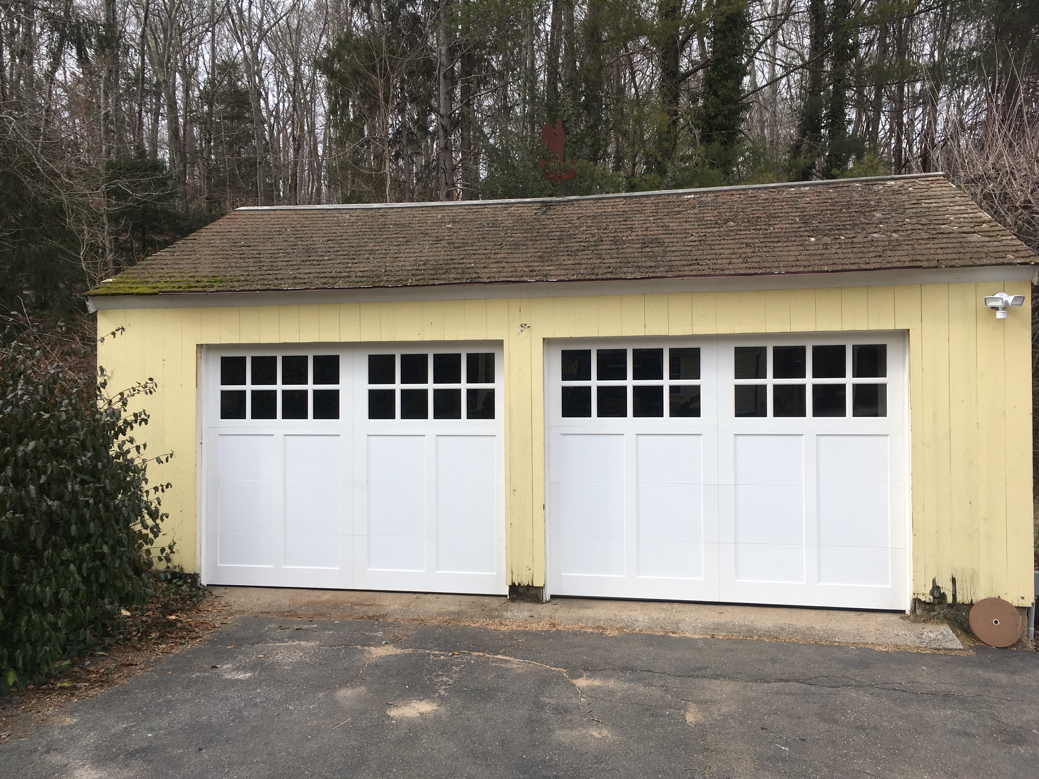 door garage dutch for sheds x insulated w structures barn